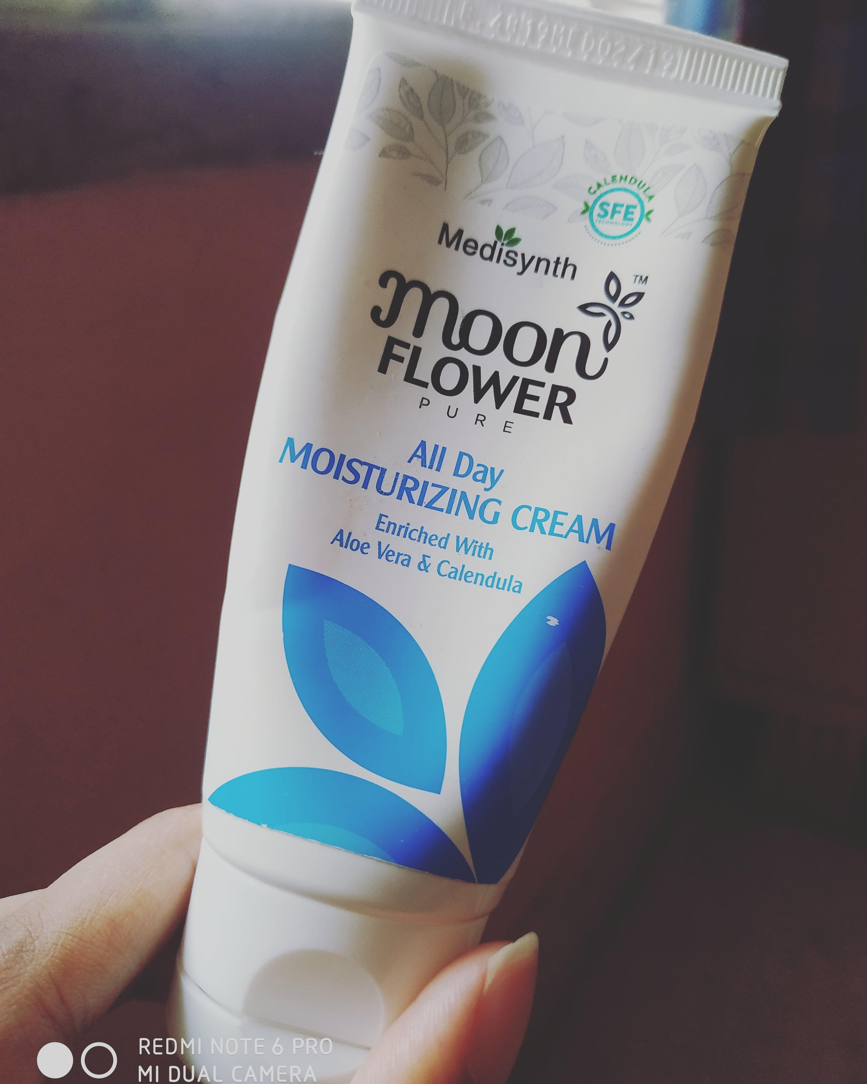Moonflower All day Moisturizing Cream -Recommended Moisturizing Cream-By anisha_dolai