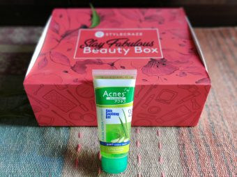 Acnes Skin Soothing Gel pic 2-Non sticky remedy for acne-By mandy
