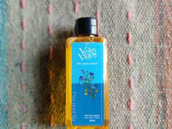 Vegebaby Natural Cold Pressed Extra Virgin Flaxseed Oil pic 1-Multipurpose oil-By mandy