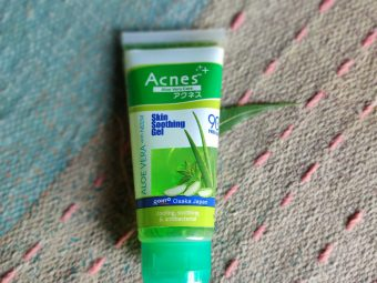 Acnes Skin Soothing Gel pic 1-Non sticky remedy for acne-By mandy