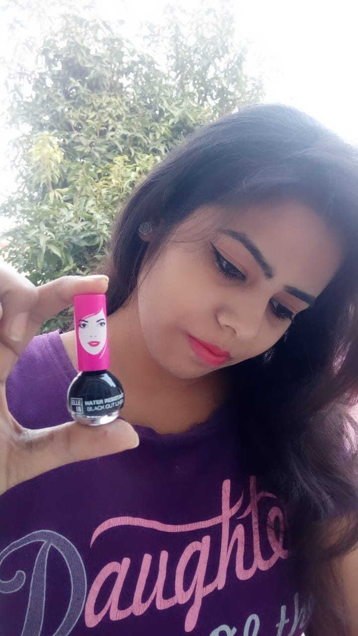 Elle 18 Water Resistant Black Out Liner pic 1-Long Lasting Eyeliner-By pinalchauhan