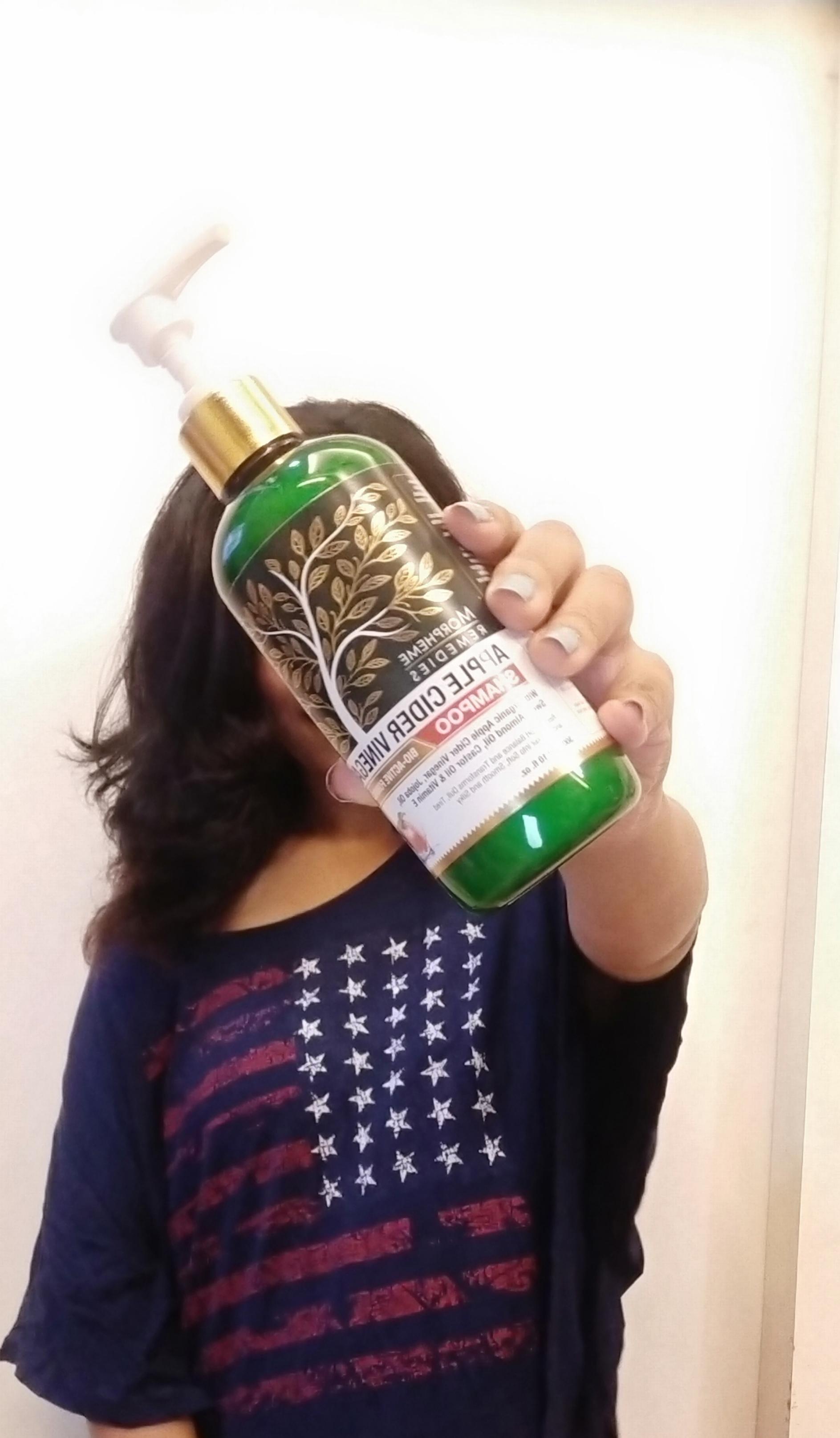 Morpheme Remedies Apple Cider Vinegar Shampoo -Love it-By ishitas