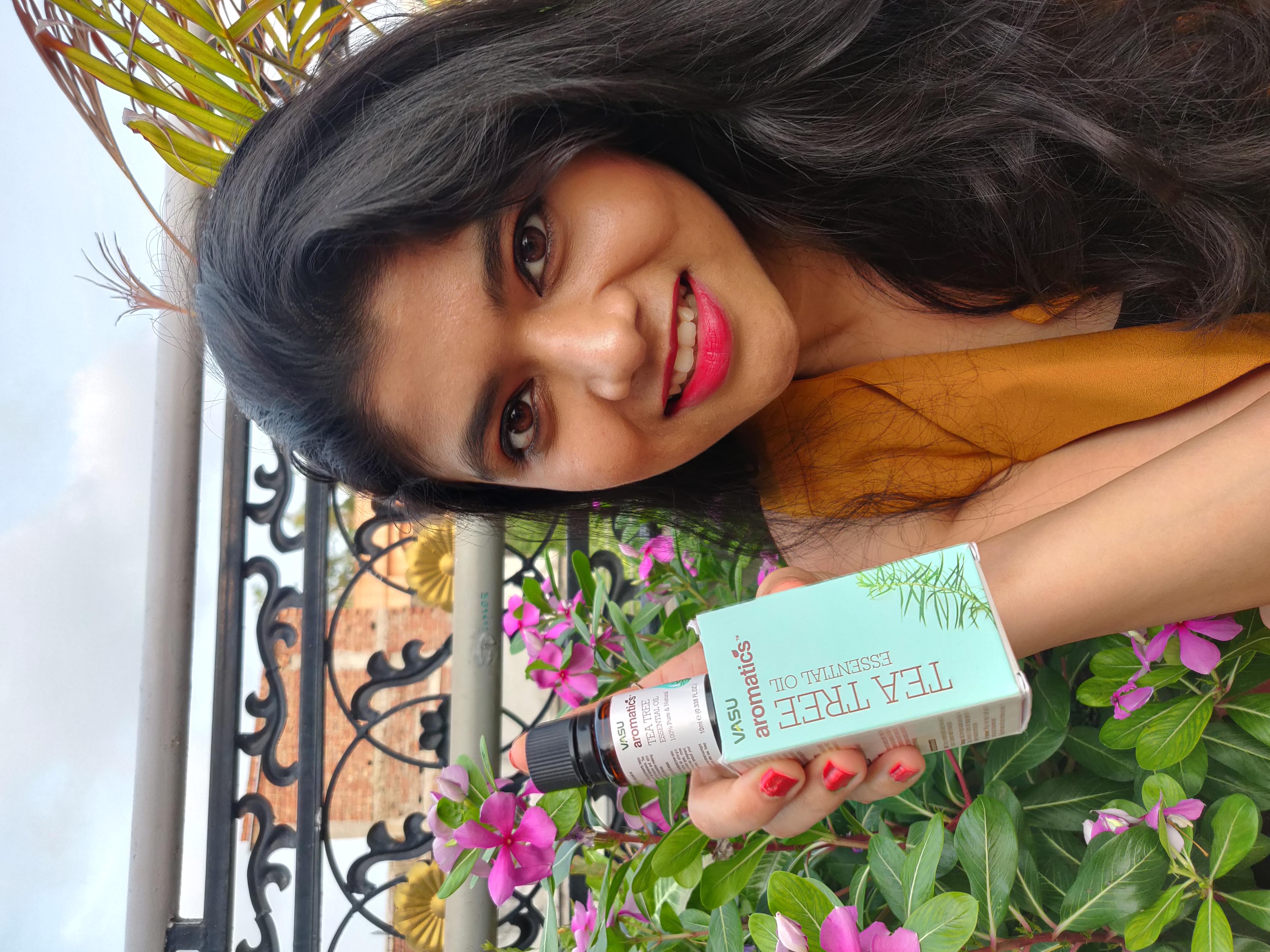Vasu Aromatics Tea Tree Essential Oil-A Few Drops In Your Favorite Oil/Cream-By nitikas06