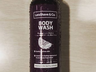 LetsShave Body Wash pic 2-Very good body wash-By chaé_live
