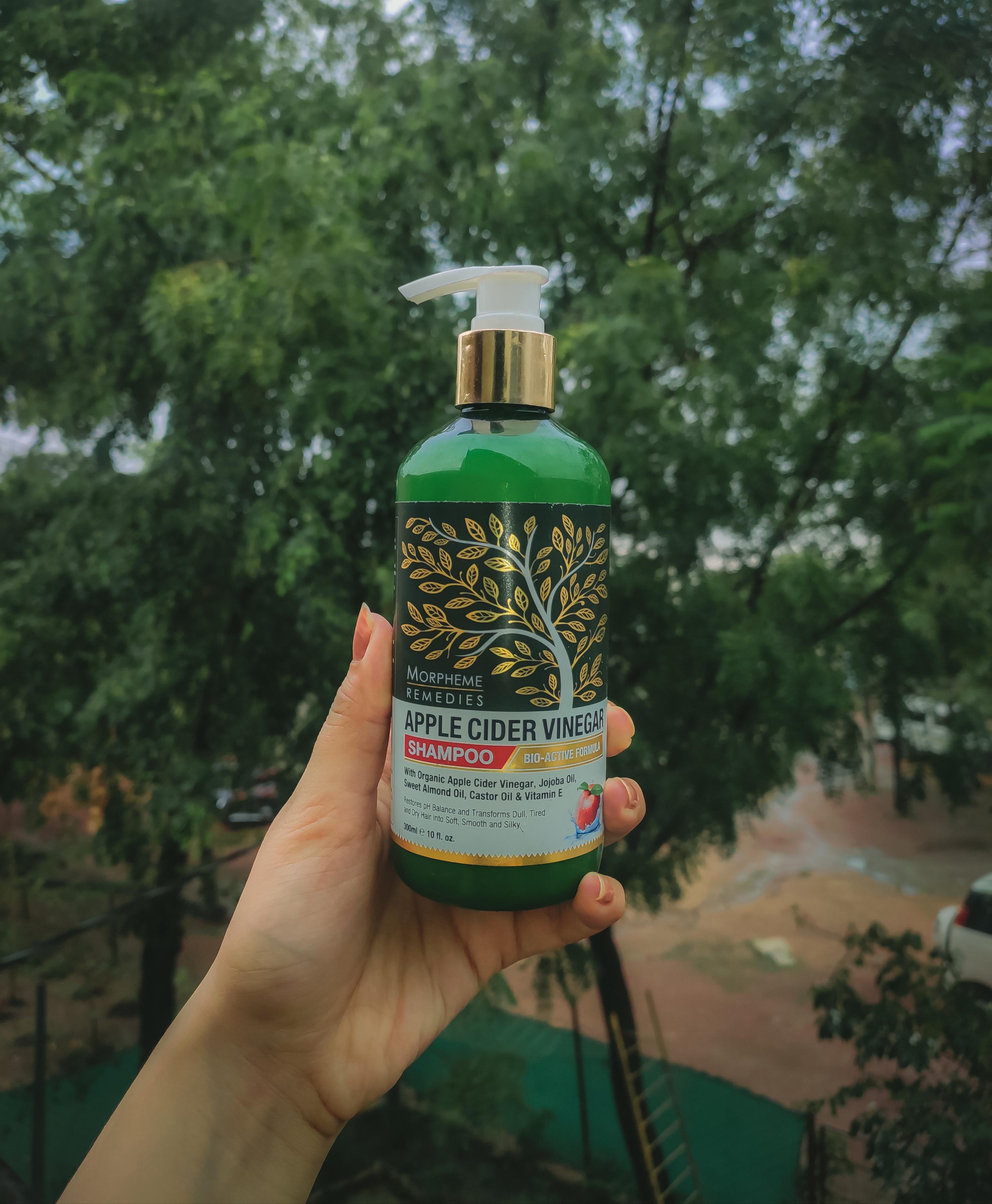 Morpheme Remedies Apple Cider Vinegar Shampoo -Best in organic shampoos-By himanshichoubey
