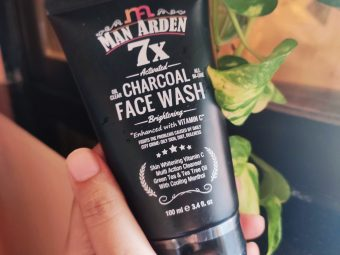 Man Arden 7X Activated Charcoal Face Wash Brightening -Value for money-By sunita_k