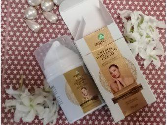 Aegte Crystal Whitening Cream Skin Illuminosity Enhancing Formula Natural SPF 20+++ Day Care Cream pic 2-Gentle care all day long-By aprajita_trivedi