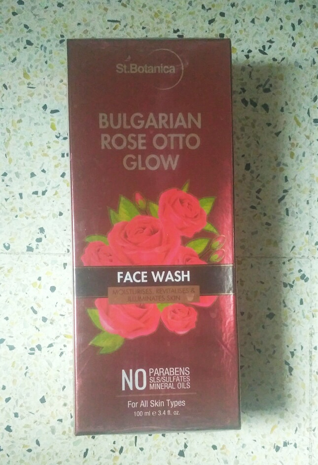 StBotanica Bulgarian Rose Otto Glow Face Wash -Rejuvenating Bio Active Face Wash-By nagapriya