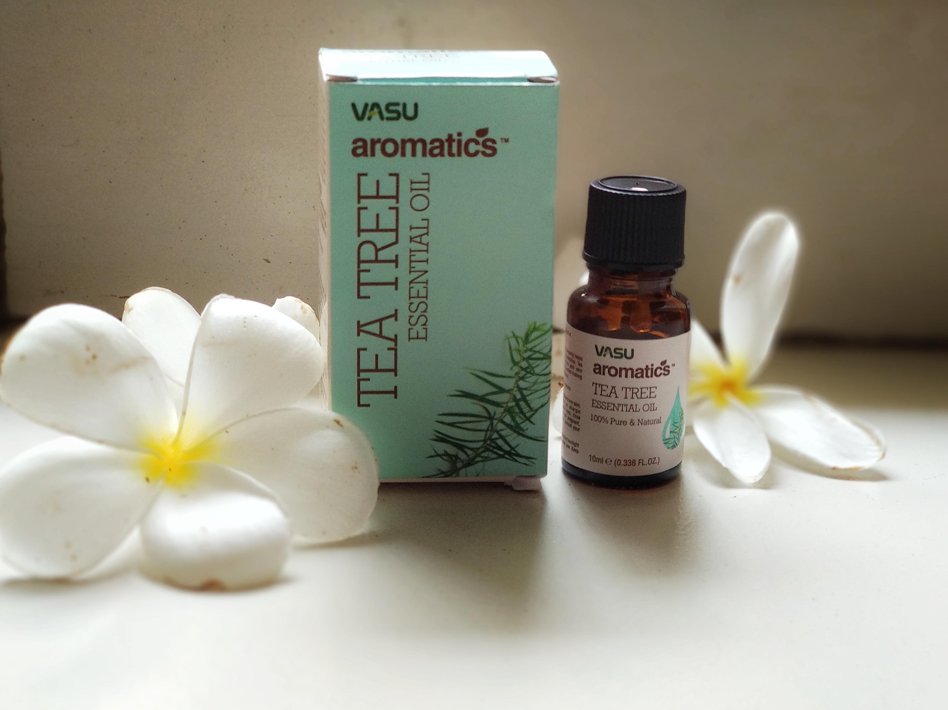 Vasu Aromatics Tea Tree Essential Oil-Very Much Effective!-By debolina_sen-3
