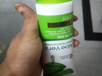 Oriental Botanics Aloe Vera, Green Tea & Cucumber Peel Off Mask pic 2-Removes Blackheads-By Nasreen