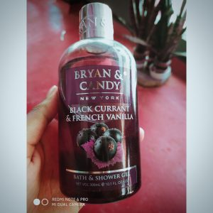 Bryan & Candy New York Black Currant and French Vanilla Shower Gel -Recommended Shower Gel-By anisha_dolai