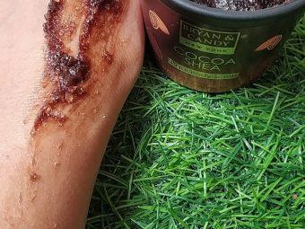 Bryan & Candy New York Cocoa Shea Sugar Body Scrub pic 4-Cocoa sugar scrub with healing aroma-By priyanka_ojha