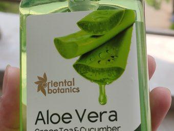 Oriental Botanics Aloe Vera Green Tea & Cucumber Body Wash -Great Product-By kavyaa12