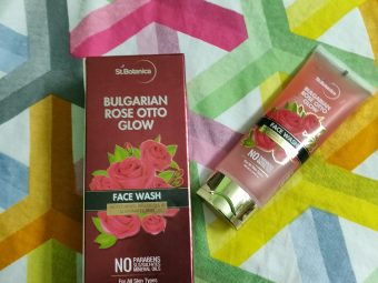 StBotanica Bulgarian Rose Otto Glow Face Wash pic 1-Just like rose petals-By glowbabies_25