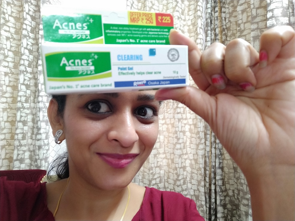 Acnes Clearing Point Anti-Pimple Gel-Not an Acne Person-By yeshpreet