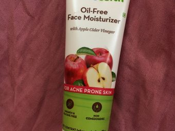 Mamaearth Oil Free Face Moisturizer With Apple Cider Vinegar -Decent product-By jyoti_sn