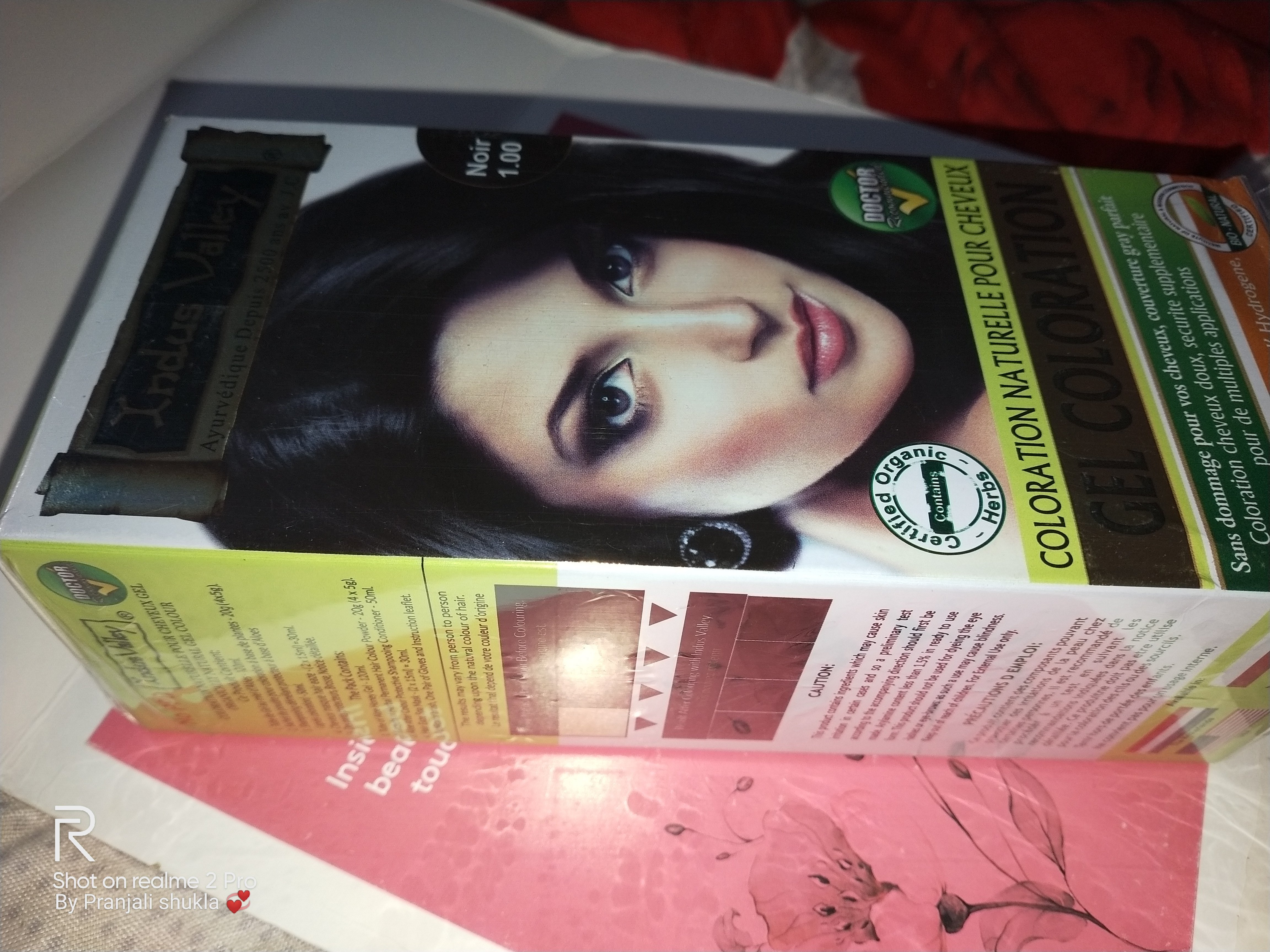Indus Valley Gel Hair Colour – Natural Black 1.0 -Great product-By pranjali_shukla