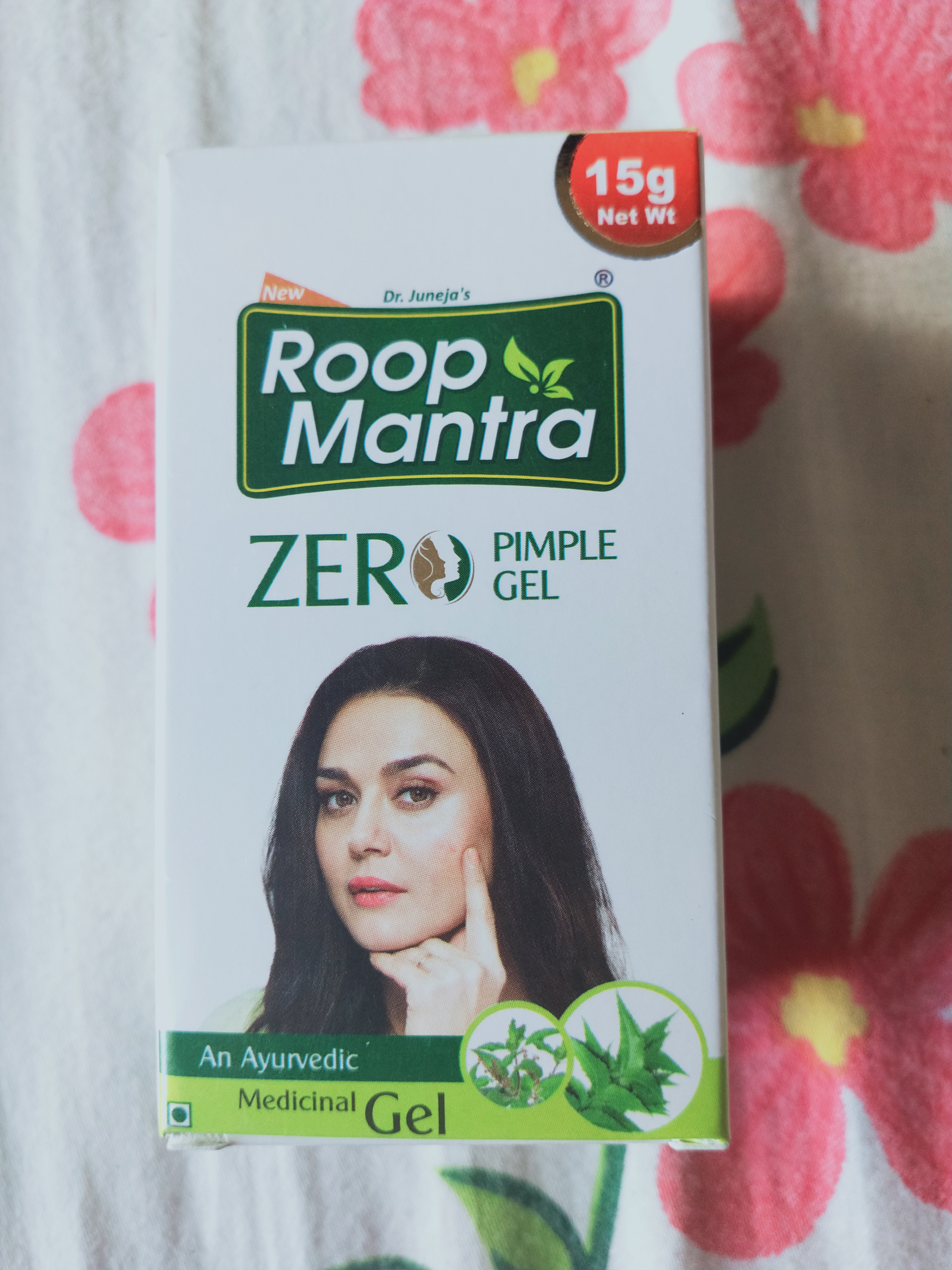 Roop Mantra Zero Pimple Gel -Effective gel to remove pimple-By anuja_pundir