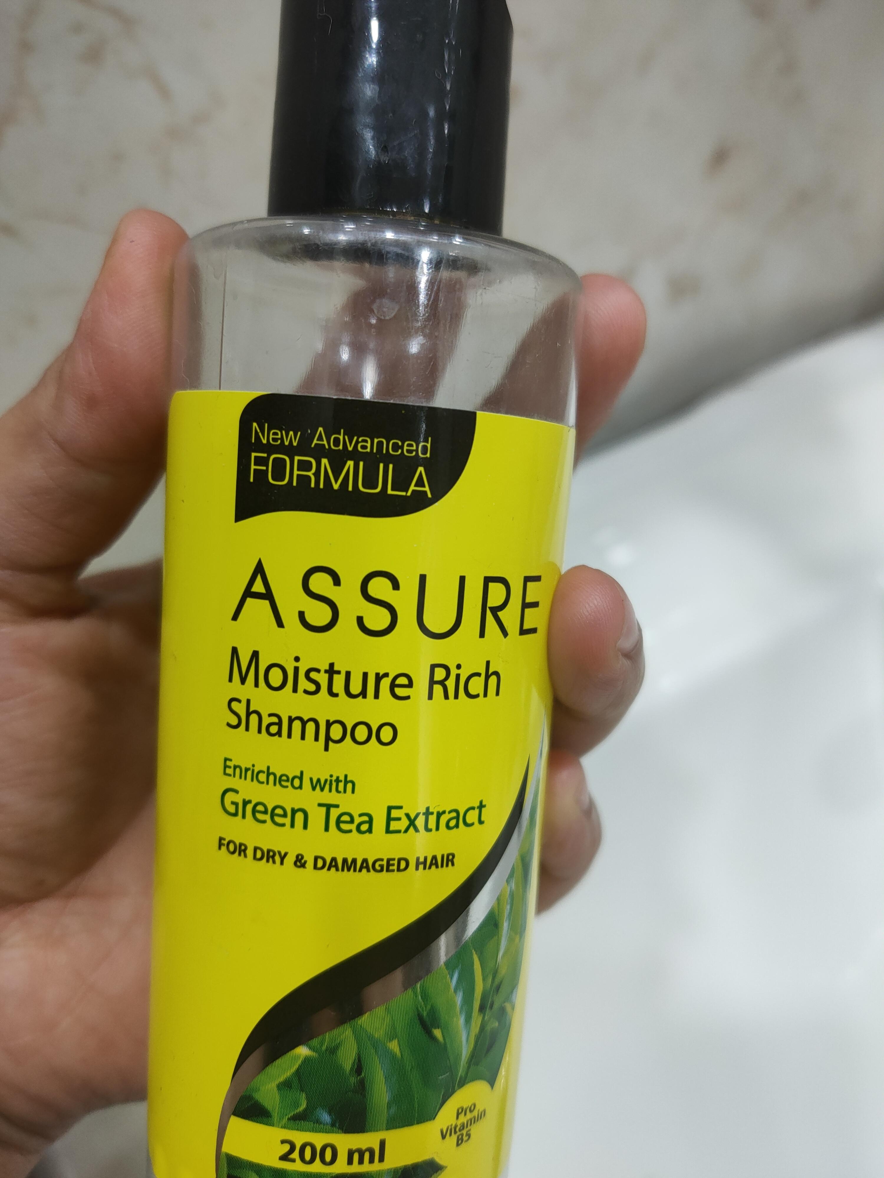 Assure Moisture Rich Shampoo -Good for dry hair-By suhanigaba