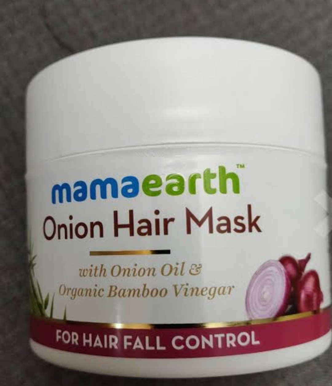 MamaEarth Onion Hair Mask-Best to Reduce Hairfall-By nihu13