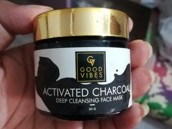 Good Vibes Activated Charcoal Deep Cleansing Face Mask -Awesome product specially for oily skin-By vaishnavi11