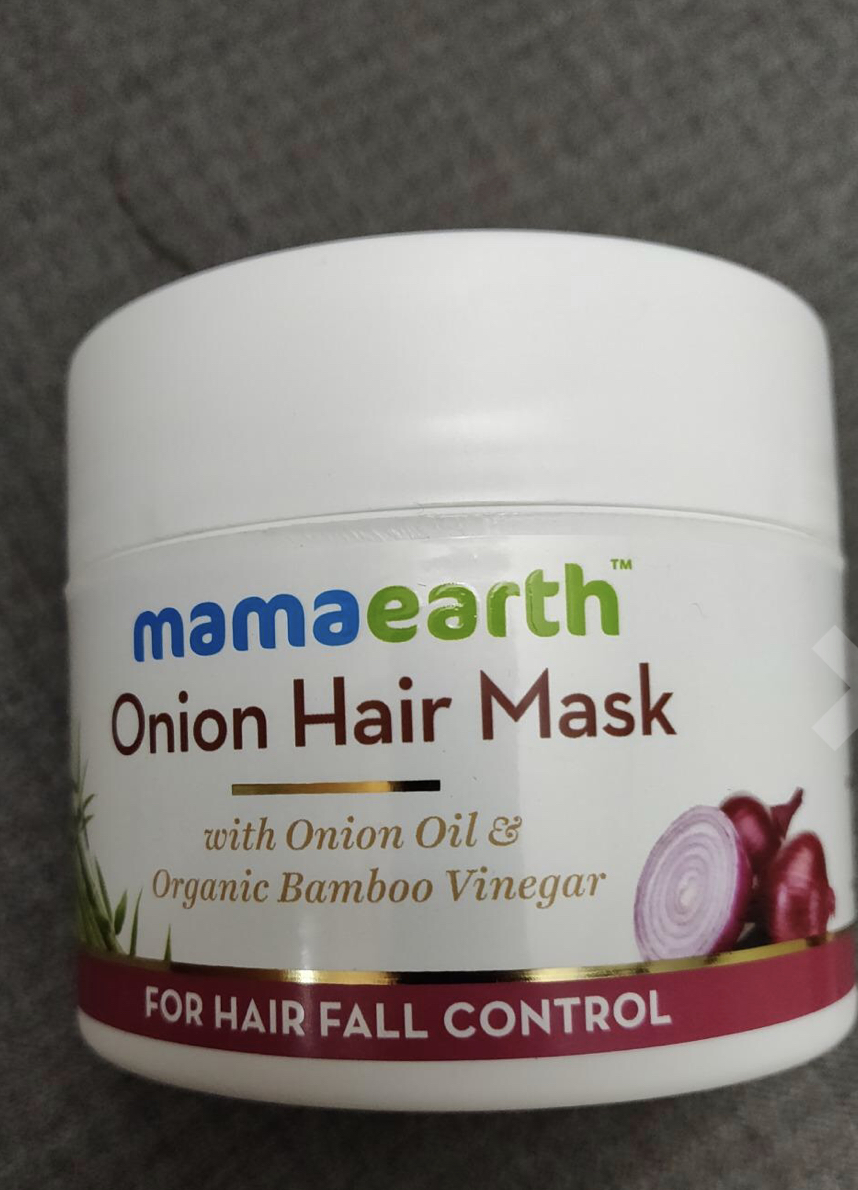 MamaEarth Onion Hair Mask-Life is not perfect, But your hair can be.-By gsrima_singh