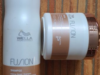 Wella Professionals Fusion Intense Repair Shampoo -Best shampoo for damage hair-By escape_with_trishaa