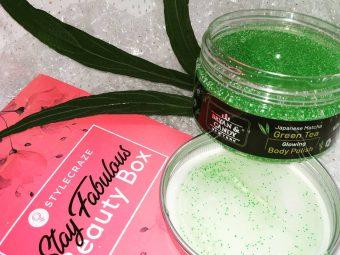 Bryan & Candy New York Green Tea Body Polish -Miraculous Microbeads-By ishikatanwar