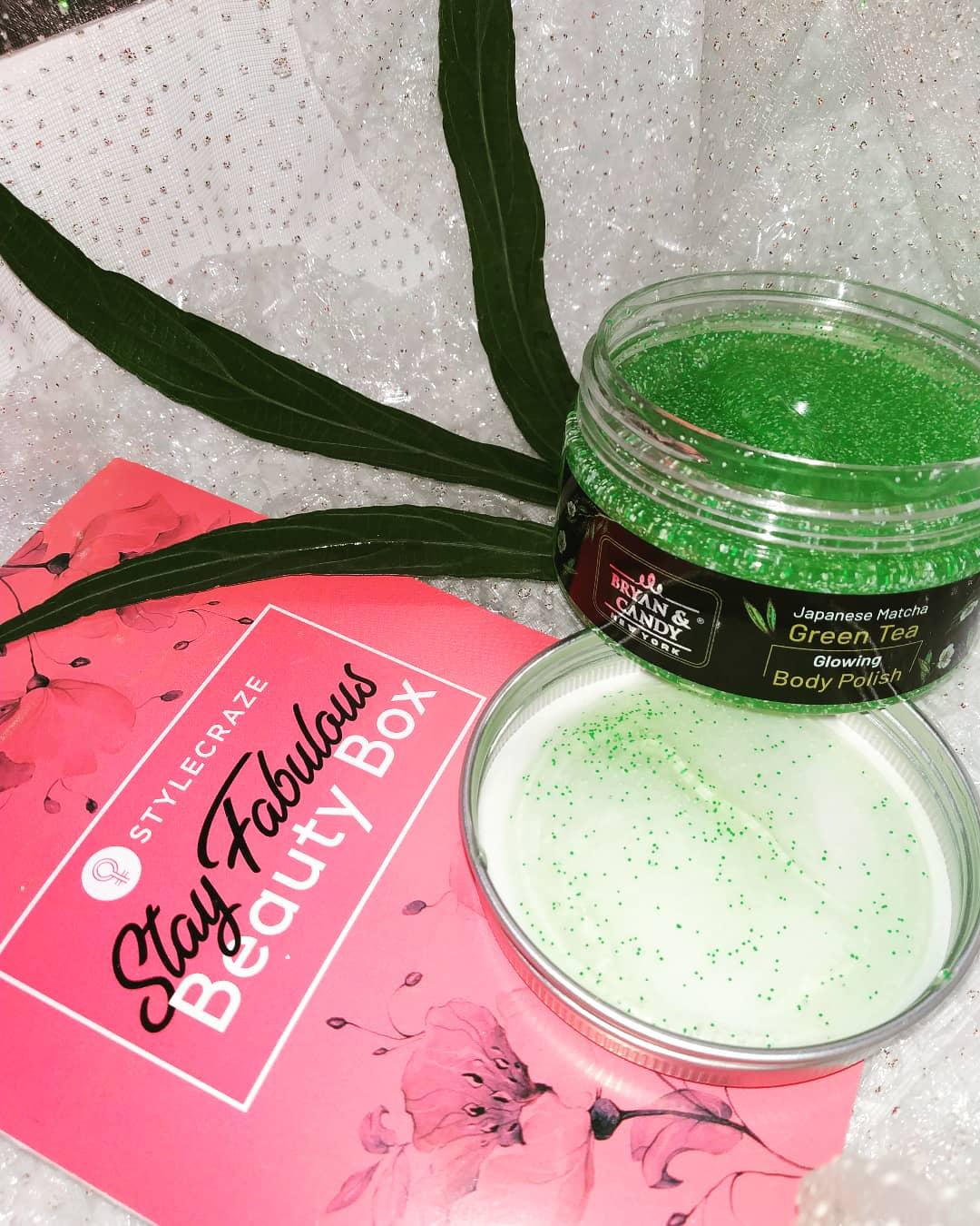 Bryan & Candy New York Green Tea Body Polish-Miraculous Microbeads-By ishikatanwar