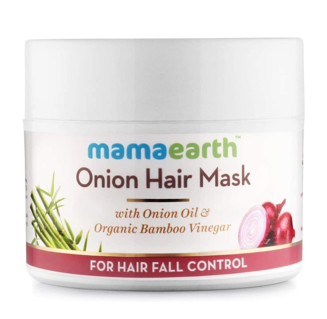 MamaEarth Onion Hair Mask-One of the best hair care product-By madhumita_bhowmik