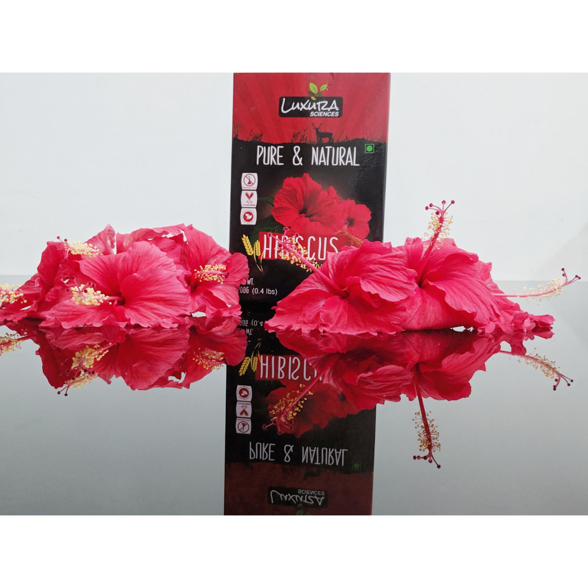 Luxura Sciences Hibiscus Powder 200 Gms -Hibiscus powder-By taniyajoshi13
