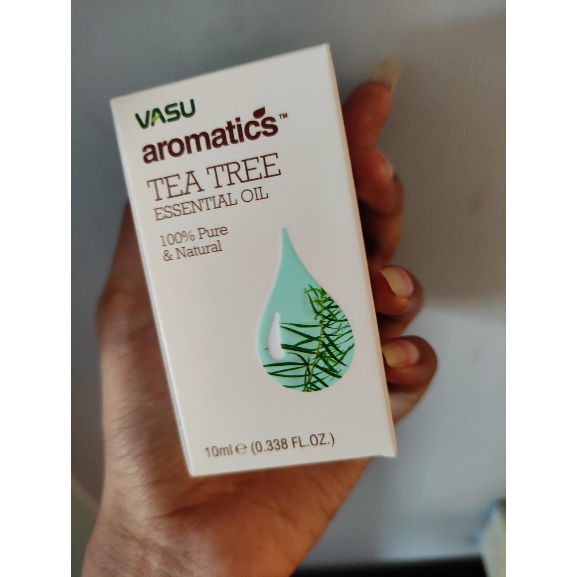 Vasu Aromatics Tea Tree Essential Oil-Nice product-By monalisa