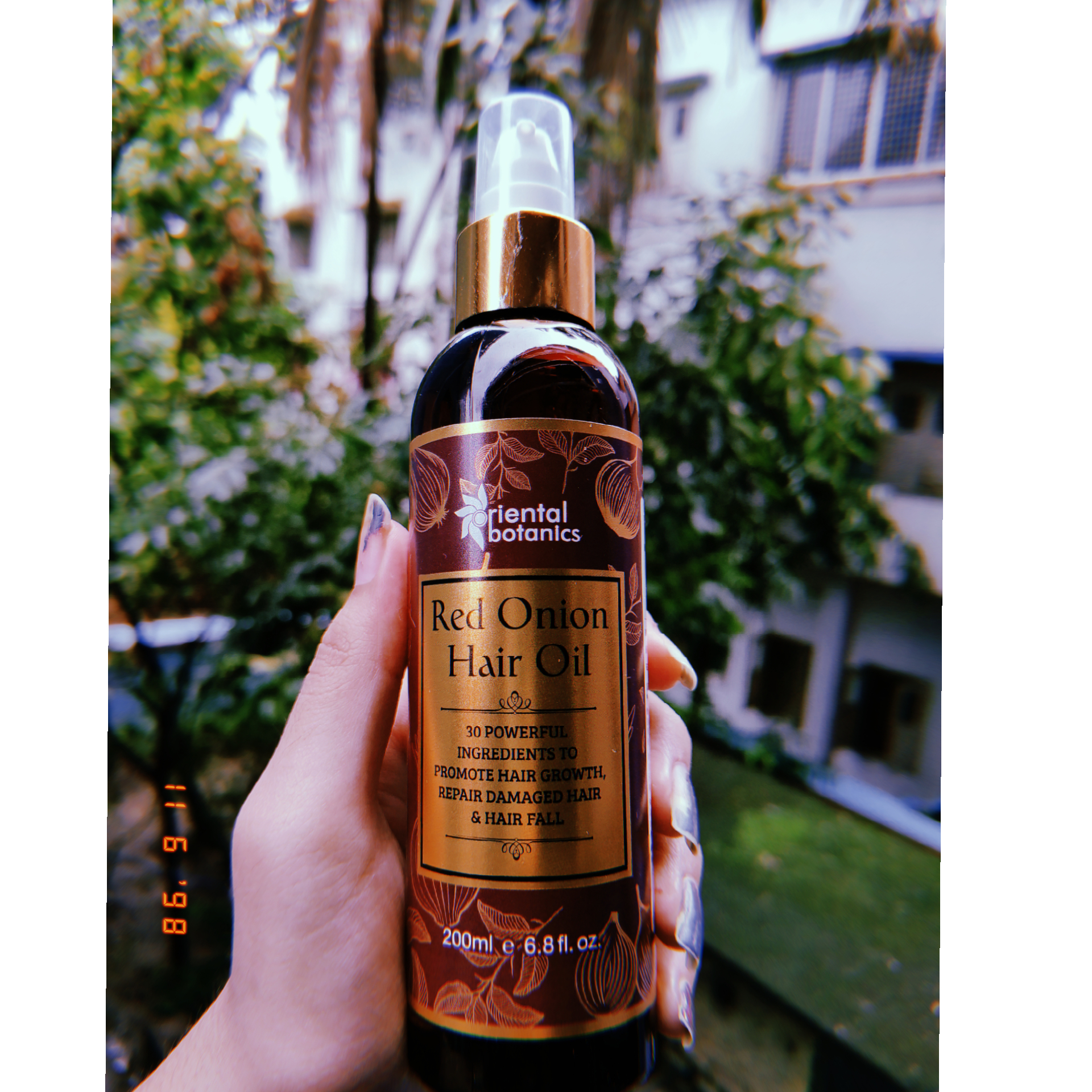 Oriental Botanics Red Onion Hair Growth Oil-Best In the Market-By shreyasi_datta