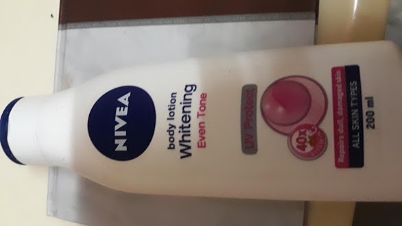 Nivea Whitening Even Tone Uv Protect Body Lotion-A good product from Nivea-By niriksha_shetty-1