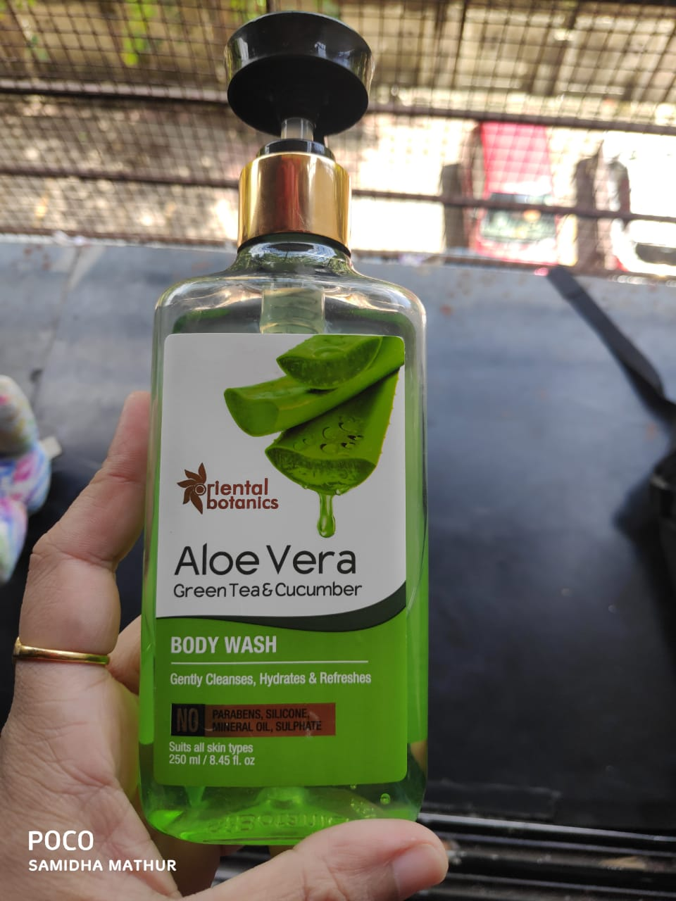 Oriental Botanics Aloe Vera Green Tea & Cucumber Body Wash-Better Than any Other Body Wash-By Samidha_Mathur-2