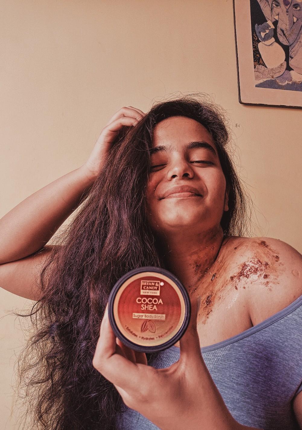Bryan & Candy New York Cocoa Shea Sugar Body Scrub-Best cleansing scrub for body-By shravika1-2