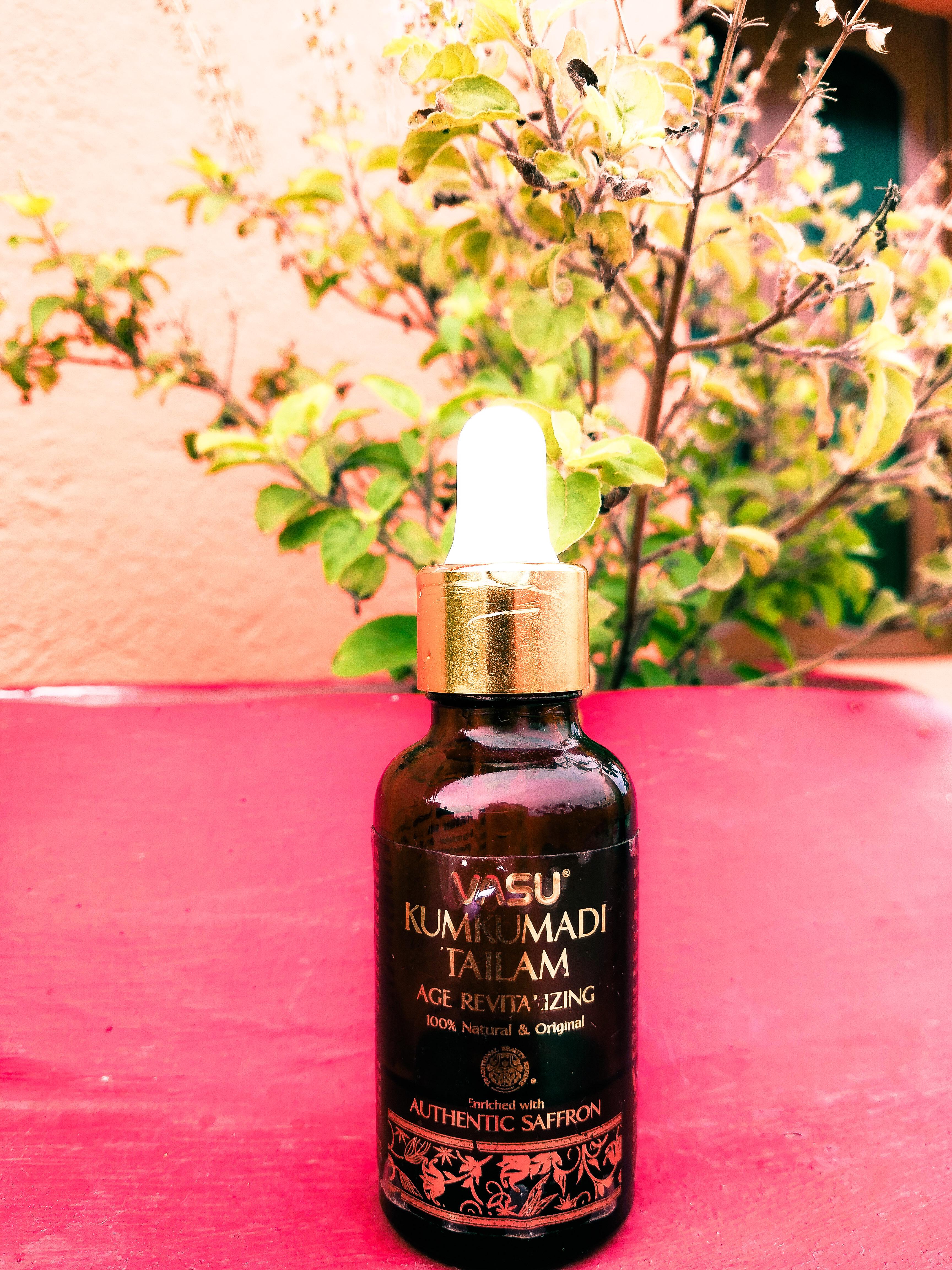 Vasu Age Revitalizing Kumkumadi Tailam-Improves skin texture with regular use-By susmita_talukdar
