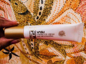 Vasu Age Revitalizing Under Eye Cream -No visible result I could see-By susmita_talukdar