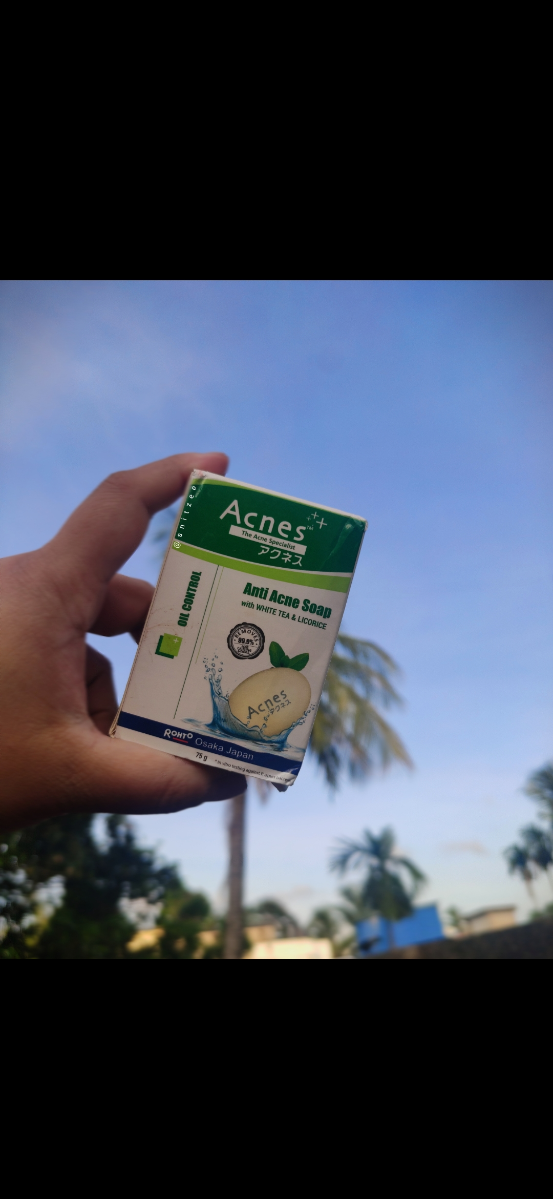 Acnes Oil Control Soap-Good for oily, acne skin-By snitzee
