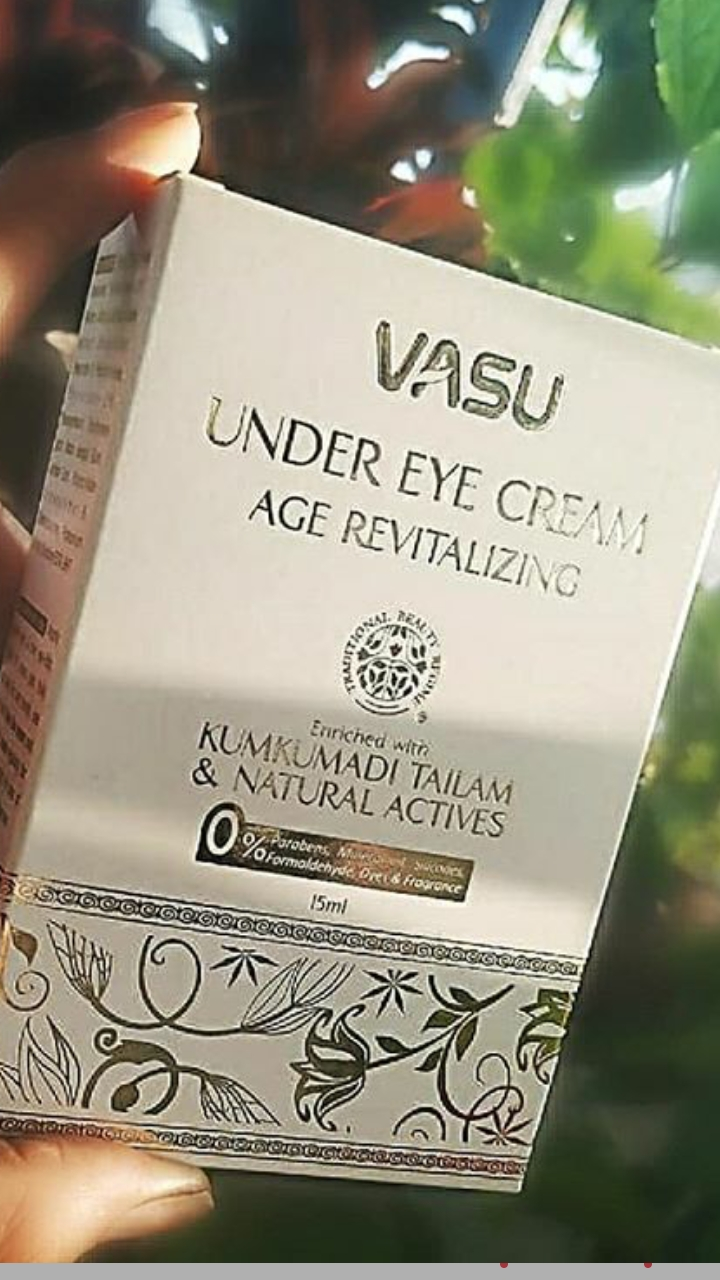 Vasu Age Revitalizing Under Eye Cream-Eye cream-By hetvi