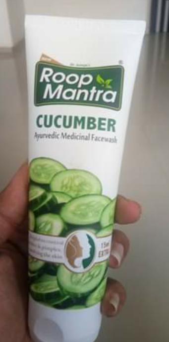Roop Mantra Cucumber Face Wash-Roop mantra face wash-By krupal_chhayani-1
