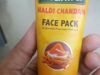 Roop Mantra Haldi Chandan Face Pack -New Solution to my pimple and acne problem-By krupal_chhayani