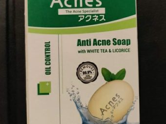 Acnes Oil Control Soap -Very Effective-By pyarejan
