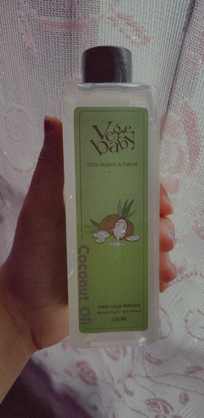 Vegebaby Natural Cold Pressed Extra Virgin Coconut Oil-Healthy Oil-By antara1998