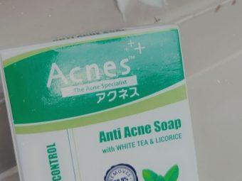 Acnes Advanced Oil Control Anti Acne Soap -Controls Oil-By antara1998