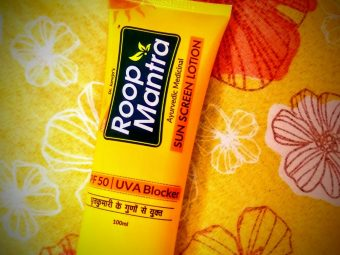 Roop Mantra Sunscreen Lotion -Protects your skin well-By mayanka