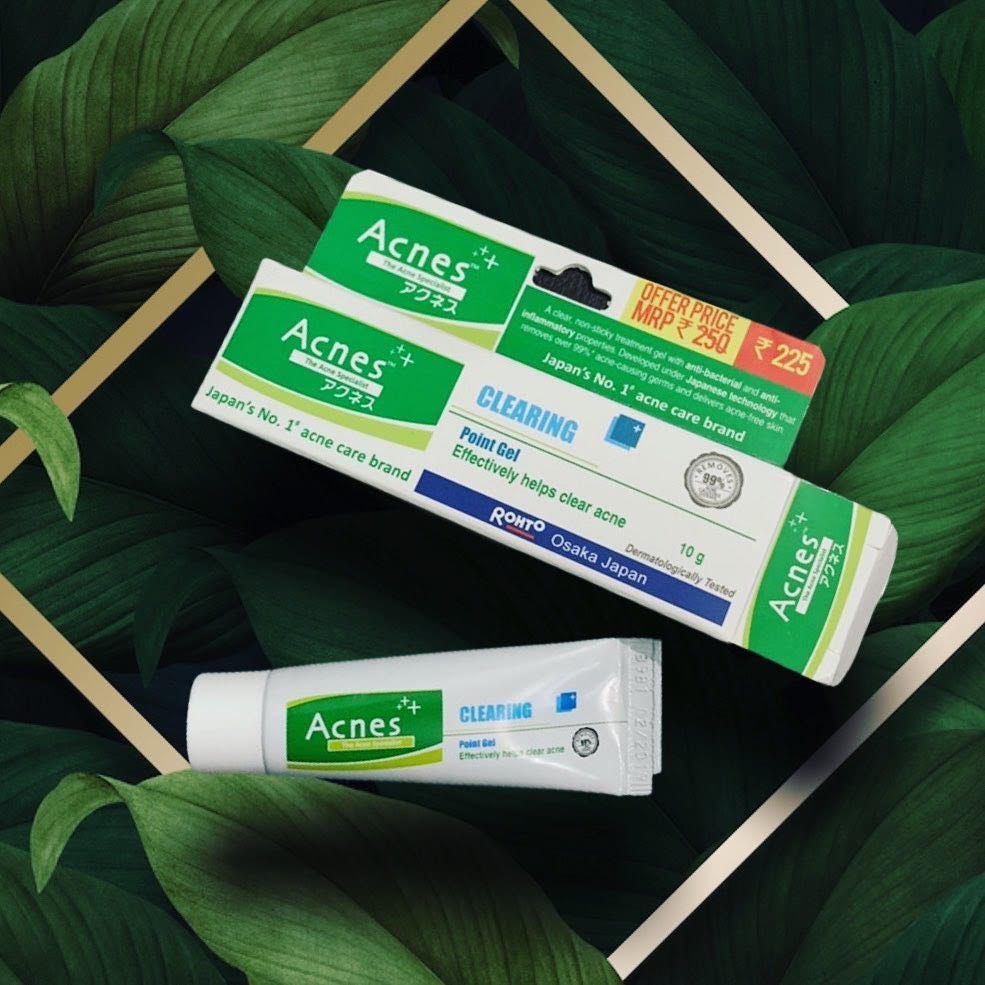 Acnes Clearing Point Anti-Pimple Gel-For Active Acne-By lavi_yadav