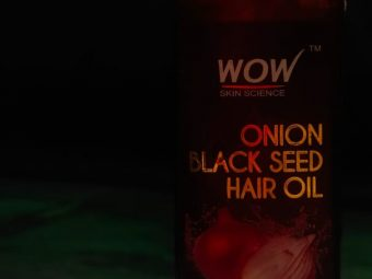 WOW Skin Science Onion Black Seed Hair Oil -Optimize Hair Growth Cycle-By saloni_gera