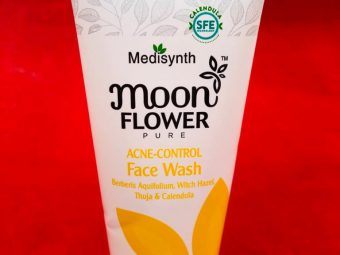 Moonflower Acne Control Face Wash -Deep Cleanser-By harshinichandrika