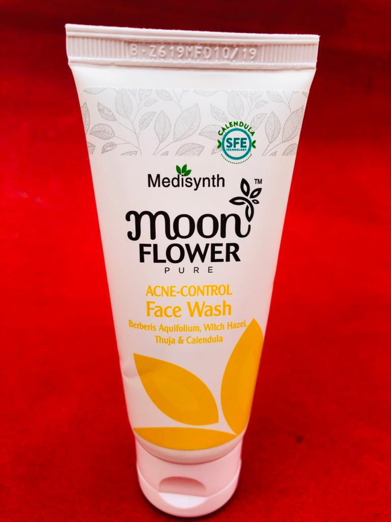 Moonflower Acne Control Face Wash-Deep Cleanser-By harshinichandrika